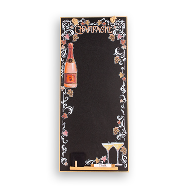 Image of Champagne - Tall Thin Chalkboard