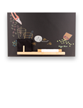Image of Garden - Tall Thin Chalkboard