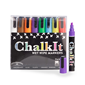Image of Chalk It Wet Wipe Liquid Chalk Pens - Pack of 8 - Assorted (6mm)