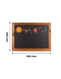 Image of Solar System Kids Chalkboard (A2)