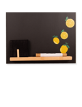 Image of Gin Kitchen Chalkboard - Small Memo Blackboard