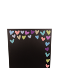 Image of Pastel Hearts - Small Memo Chalkboard