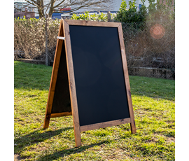 Image of Light-weight A-Frame Chalkboard