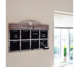 Image of Weekly Home Planner Chalkboard