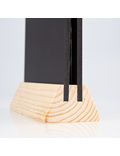 Image of Double Sided Menu Holder (Natural)