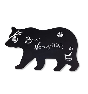 Image of Bear Shaped Chalkboard