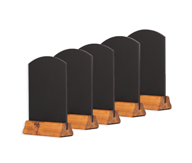 Image of A5 Table Top Chalkboards (Pack of 5/10)