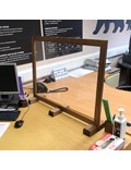 Image of Social Distancing Acrylic Display Unit