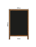 Image of 'Open for Business' Printed A-Frame Chalkboard
