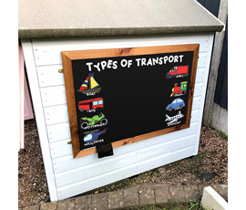 Image of Transport - Large Kids Garden Chalkboard
